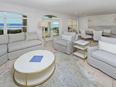 Photo for DESIGNER'S CONDO GROUND FLOOR VILLA OVERLOOKING GULF -3BD, 3BA: Sleeps 8, POOL