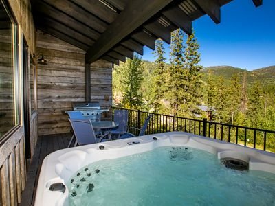 Photo for NEW LISTING! Brand New Ski-in Ski-out 5BD 4.5 BA! Private Theater & Hot Tub!