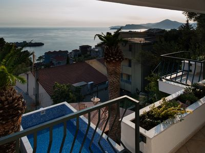Photo for Beautiful VILLA MIA with private pool and sea view