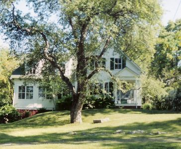 Photo for Picturesque New England Farmhouse-style home on lovely grounds near Bar Harbor