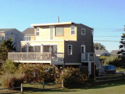 Photo for Wonderful views of ocean and salt pond the heart of Matunuck Village!