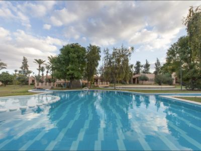 Photo for Peaceful Villa with Pool & Tennis in the Palmeraie