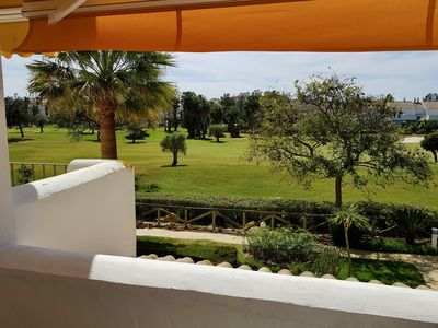 Photo for Apart. Costa Ballena in Urb. Exclusive 3D, 2B, A / C, Garage, pool, paddle.