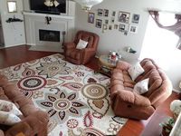 A very comfortable home for a group or family reunion