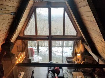 Photo for Sparkling Clean and Ready!  Newly renovated 4-BR chalet with stunning views!