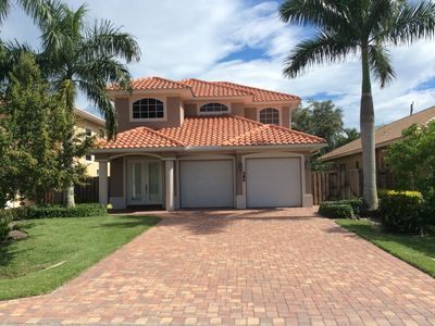 Photo for WALK TO THE BEACH, FANTASTIC SINGLE FAMILY HOME WITH POOL AND SPA