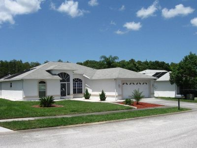 House/residence with pool in Hudson, pure relaxation beach, suitable for seniors