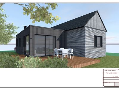 Photo for New timber frame house - Saint Gildas de Rhuys - South Brittany