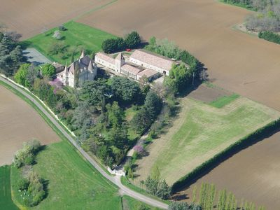 Photo for Luxury 19th Century castle for 16-19 people: swimming pool, tennis court
