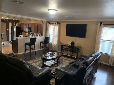 Photo for Spacious House that Caters to your needs while visiting Austin, Tx.