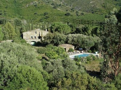 Photo for Mansion with heated pool in the heart of the vineyards of Patrimonio