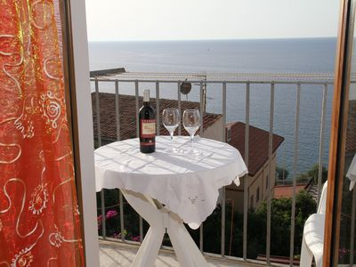 Photo for Dea Del Borgo Holiday House with sea view