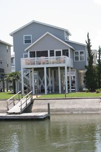 Photo for WATERFRONT CANAL HOME WITH DOCK and EASY BEACH ACCESS