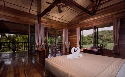 Photo for Stylish loft in stilted wooden longhouse