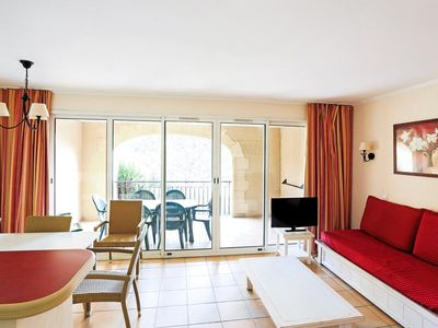 Photo for Residence Pont Royal en Provence - 2 room apartment 6/7 people Selection