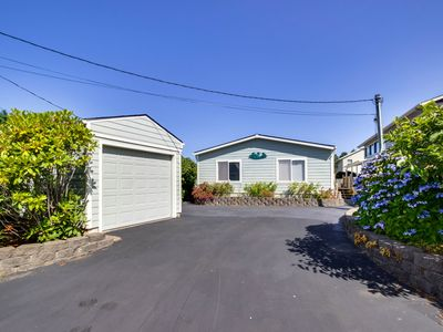 Photo for NEW LISTING! Dog-friendly home w/fireplace & entertainment - steps from beach