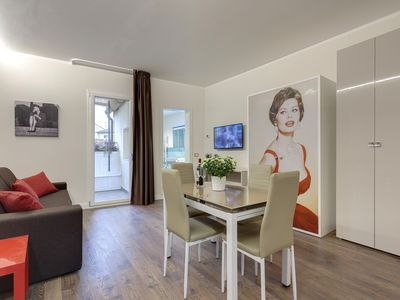Photo for Beautiful, elegant two-roomed apartment max. 4 people near S. M.N. Florence