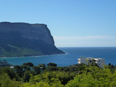 Photo for CASSIS- BEAUTIFUL T3 APARTMENT IN A STANDING RESIDENCE WITH POOL / TENNIS - SEA VIEW