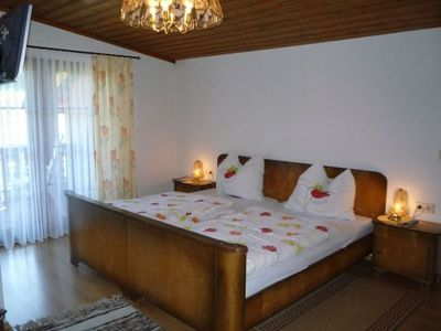"""Photo for Pension """"Holzerstube"""" double room 5 with balcony - Pension """"Holzerstube"""""""