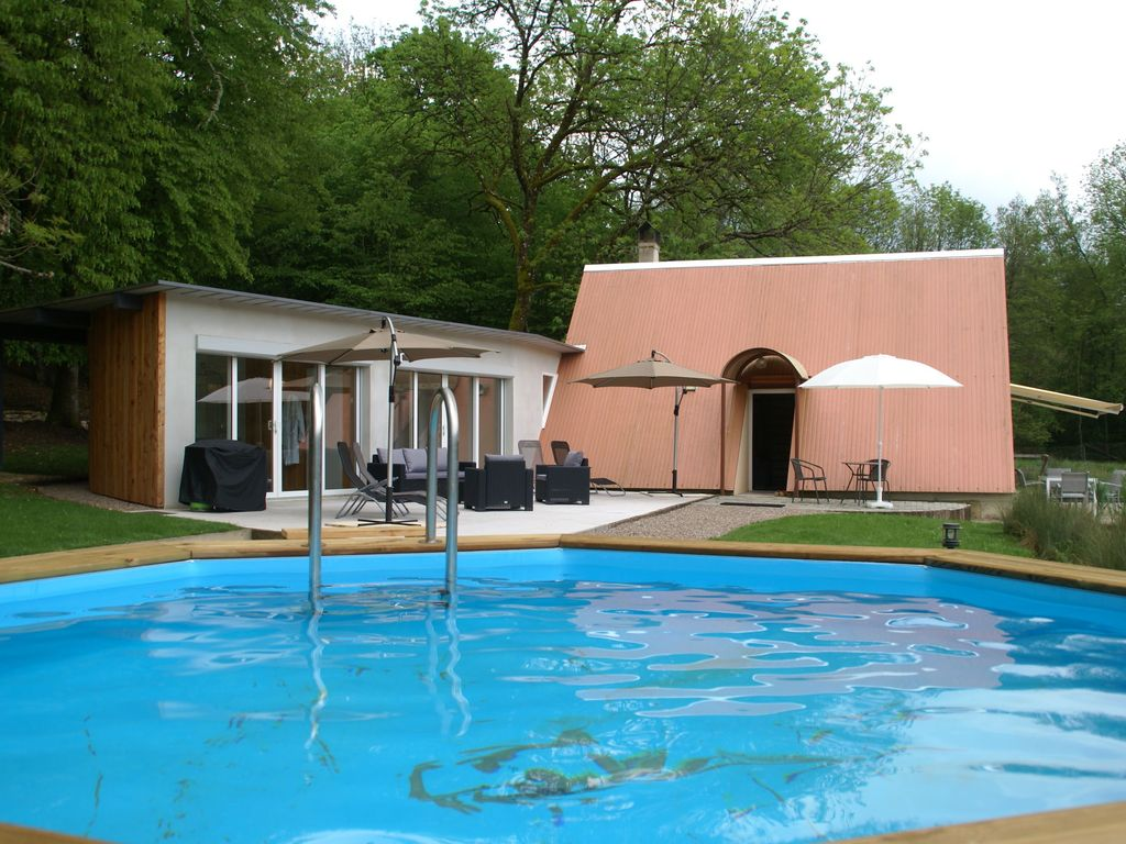 Unique Holiday Home With Private Lake Swimming Pool And Jacuzzi On Private Grounds Of 2 Ha