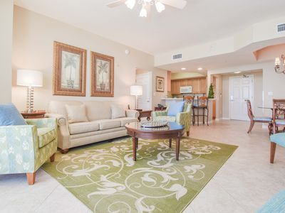 Photo for Beach-Front Condo in heart of Destin: FREE Seasonal Beach Service! TWO KING BEDS