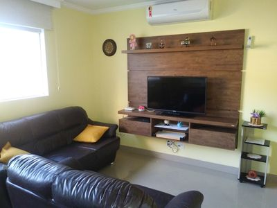 Photo for Pitangueiras Guaruja - Wi fi, Air Conditioning and 3 suites (newly renovated)