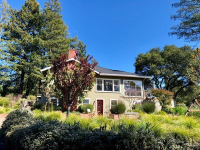 Photo for Classic Healdsburg home with breathtaking views, pool and deck