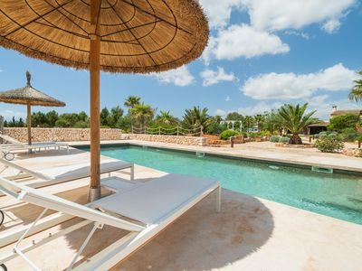 Photo for Rustic country house finca with private pool and beautiful garden