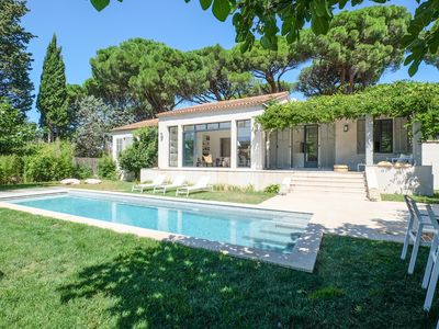 Photo for VILLA WITH 5 BEDROOMS, 200M FROM THE BEACH BOUILLABAISSE 1KM FROM PORT ST-TROPEZ