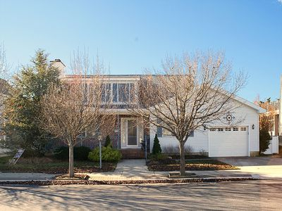 Photo for Only One and 1/2 blocks to the beach (nine houses) and within walking distance to boardwalk