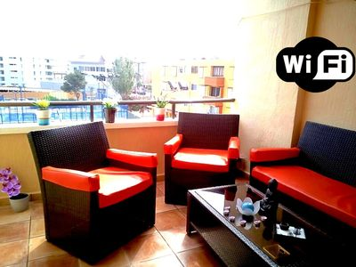 Photo for Apartment in Arenal beach, with Wifi and air conditioning