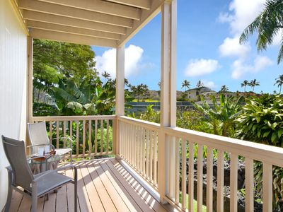 Photo for Sleep14+ Steps from POIPU beach. Central AC, BEST VALUE in POIPU!