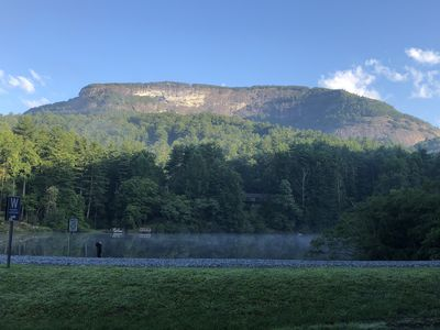 Photo for NEW LISTING! Modern Rustic Lakeside Retreat with views of Whiteside Mountain