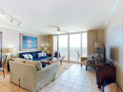 Photo for Gorgeous beach-front getaway w/ complimentary beach chairs & umbrella