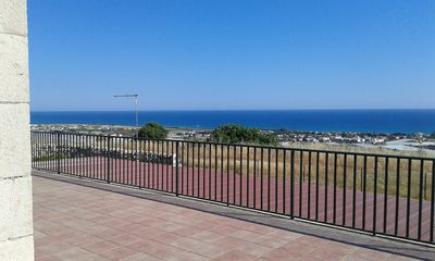 Photo for Typical Sicilian farmhouse with large panoramic terrace 2km from the beach