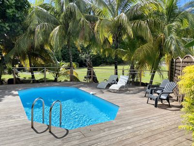 Beautiful Villa For 5 People Private Pool Large Garden And Beach 850m Le Diamant
