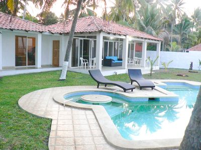 Photo for Private pool and beach access. Just 25 minutes from the airport.