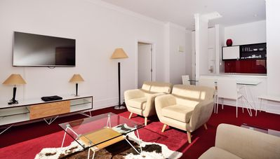 Photo for Large sunny lounge, Smart TV and spectacular balcony w/views of the harbor.