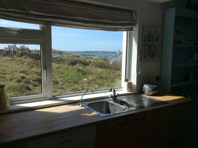 Photo for Special, peaceful, very comfortable and cosy cottage overlooking the sea