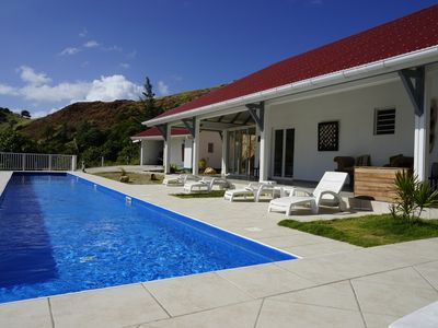 Photo for Spacious Luxury villa sea view with large pool and jacuzzi