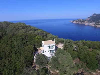 Photo for Villa Pyrgos - 5 persons - Sea view - Close to beaches within walking distance