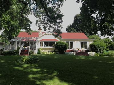 Photo for Big and Beautiful Fox River/Chain of Lakes Waterfront Home