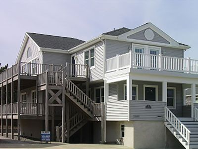 Photo for Beautiful views steps from the beach. 2 complete units can be rented separately.