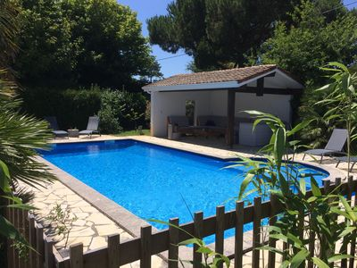 Photo for Furnished 4-star tourism, superb pool area, very quiet
