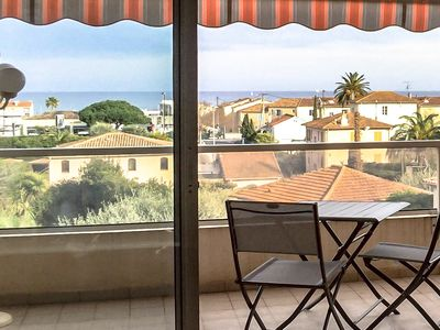 Photo for ANTIBES - LARGE STUDIO BRIGHT, SEA VIEW for 4 pers