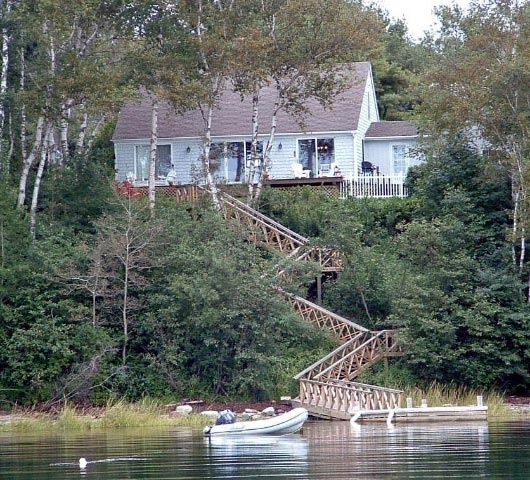 Www Rental Homes: Harpswell Waterfront Orr's Island Cottage With Views