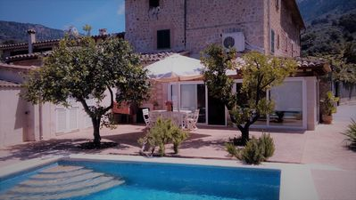 Photo for Spectacular house with pool in biniaraix