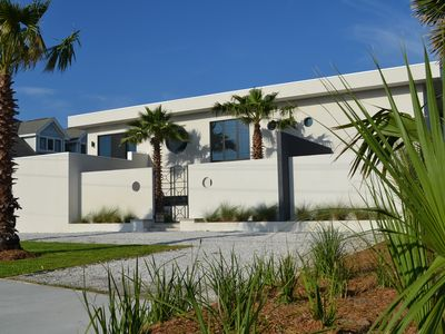 Photo for New Contemporary Oceanfront 5 Bedroom Home