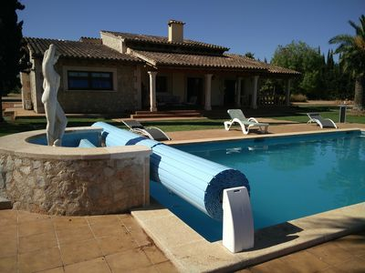 Photo for Two houses with 5x10m pool & tennis court in beautiful 18,000m2 grounds