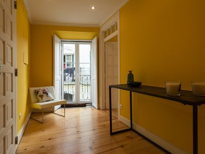 Photo for In Chiado quarter, the luxury of a patio and a garden in a refined cozy flat